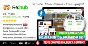 15-REHub---Price-Comparison,-Affiliate-Marketing,-Multi-Vendor-Store,-Community-Theme